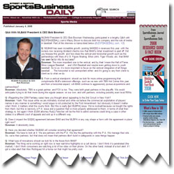 Bob Bowman Sports Business Daily